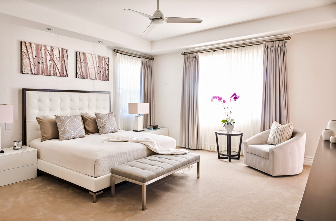 Soft contemporary residence tara dudley interiors las - What is contemporary design ...